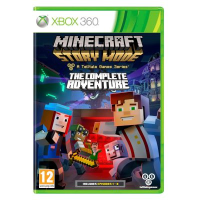 Activision Minecraft : Story Mode  The Complete Adventure XBOX 360