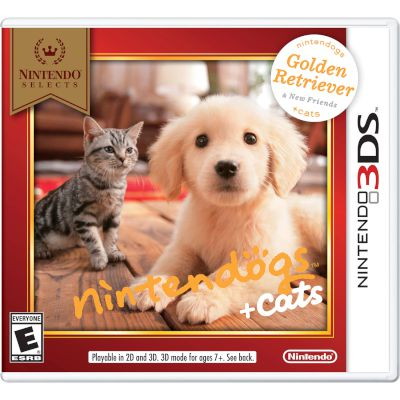 Nintendo Nintendogs Retriever & Friends 3DS