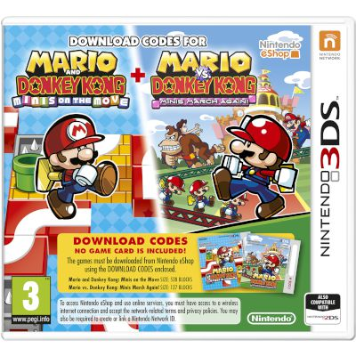Nintendo Mario Donkey Kong Move & March 3DS