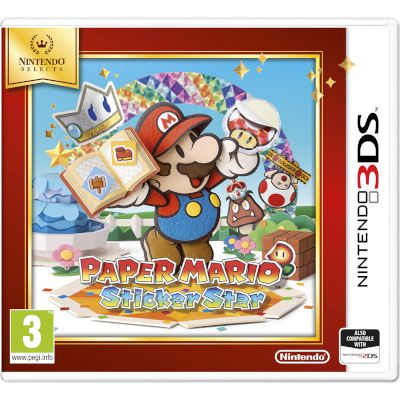 Nintendo Paper Mario Sticker Star 3DS