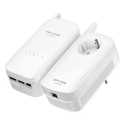 TP-Link Powerline Up to 1200 Mbps TL-WPA8630 KIT