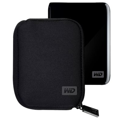 WD My Passport Carrying Case Black