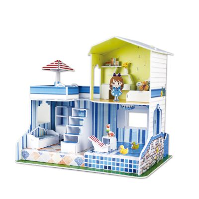3D Puzzle Doll House of Summer 53τμχ