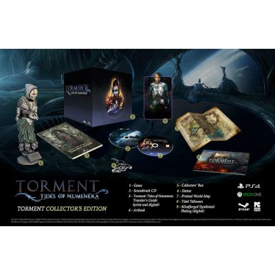 TECHLAND Torment Tides Of Numenera Collectors Ed PC