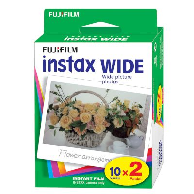 Instax Film Wide (2Χ10 sheets)