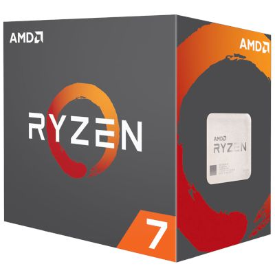 AMD CPU Ryzen 7 1700 with Wraith Spire Cooler (AM4/3.70 GHz/20 MB)