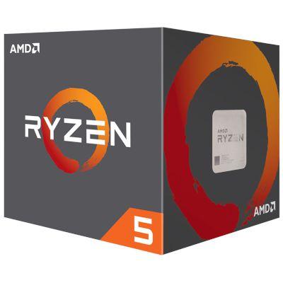 AMD CPU Ryzen 5 1500X with Wraith Spire Cooler (AM4/3.7 GHz/18 MB)