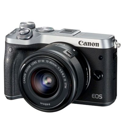 Canon Mirrorless EOS M6 15-45mm IS Ασημί