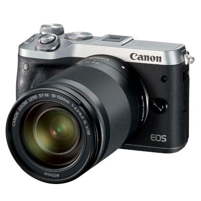 Canon Mirrorless EOS M6 18-150mm IS Ασημί