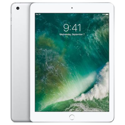 "Apple iPad Wifi 128GB Silver Tablet 9.7"" WiFi"