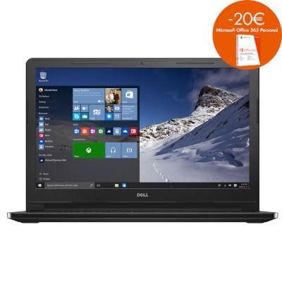 Dell Inspiron 3567 Laptop (Core i3 6006U/4 GB/1 TB/HD Graphics) με Windows 10 PRO