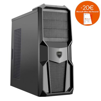 Turbo-X Cerberus GK410 Desktop (Intel Core i5 7400/8 GB/240 GB SSD/ SSD/GTX 1050)