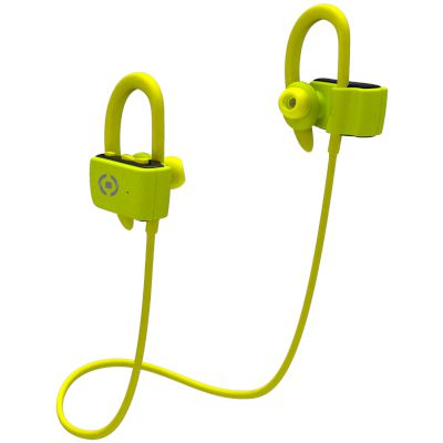 Handsfree Bluetooth Celly Sport Stereo Κίτρινο