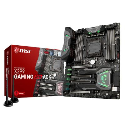 MSI Motherboard X299 Gaming M7 ACK (X299/2066/DDR4)