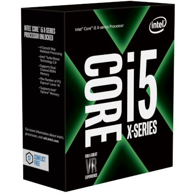 Intel CPU Core i5 7640X (2066/4.00 GHz/6 MB)