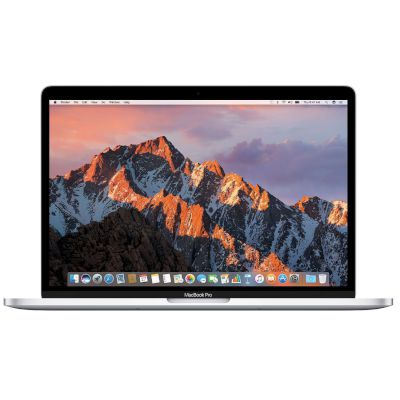 Apple MacBook Pro 15'' με Touch Bar MPTU2GR/A (Mid 2017) Silver Laptop (Core i7/16 GB/256 GB/Radeon Graphics 2 GB)