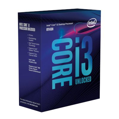 Intel CPU Core i3 8350K (1151/4.00 GHz/6 MB)