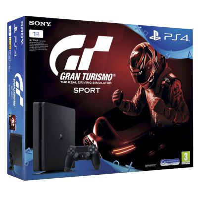 Sony Playstation 4 Slim 1 TB + Gran Turismo Sport + That's You