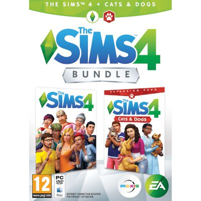 EA The Sims 4 Plus Cats & Dogs Bundle PC
