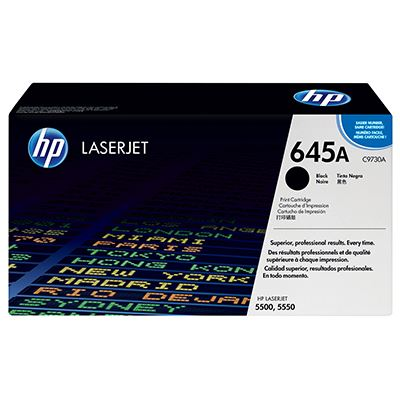 Toner HP 645A Black