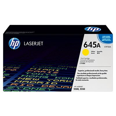 Toner HP 645A Yellow