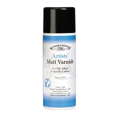 Artists' Matt Varnish Spray 400ml