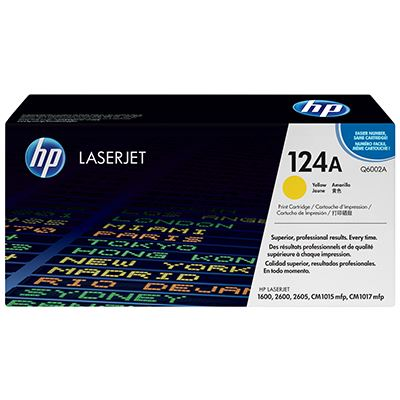 Toner HP 124A Yellow