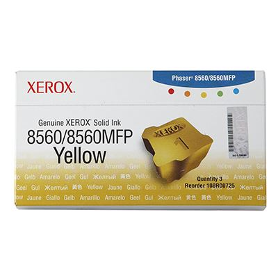 Solid Ink Xerox 108R00725 Yellow (3 ΤΕΜ)