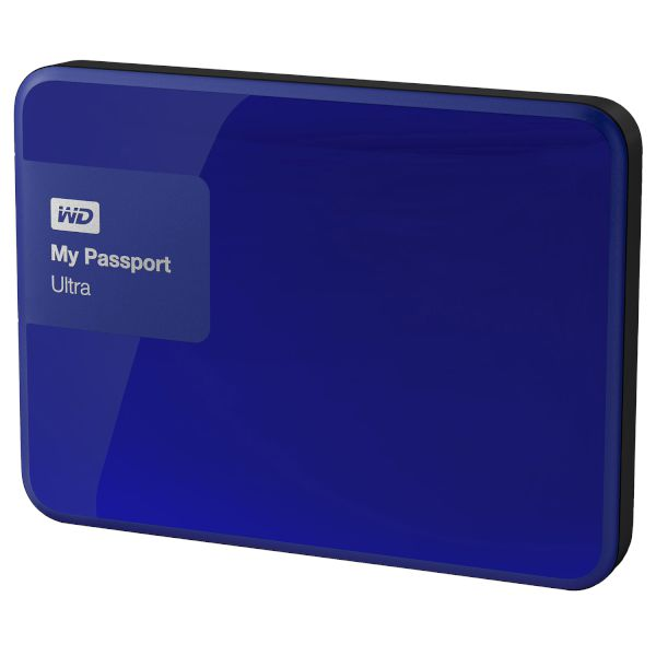 WD Passport Ultra 2TB Blue