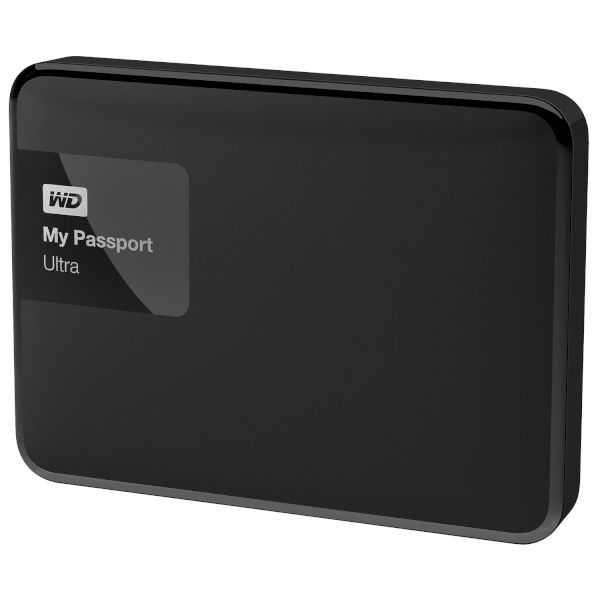 WD Passport Ultra 500GB Black
