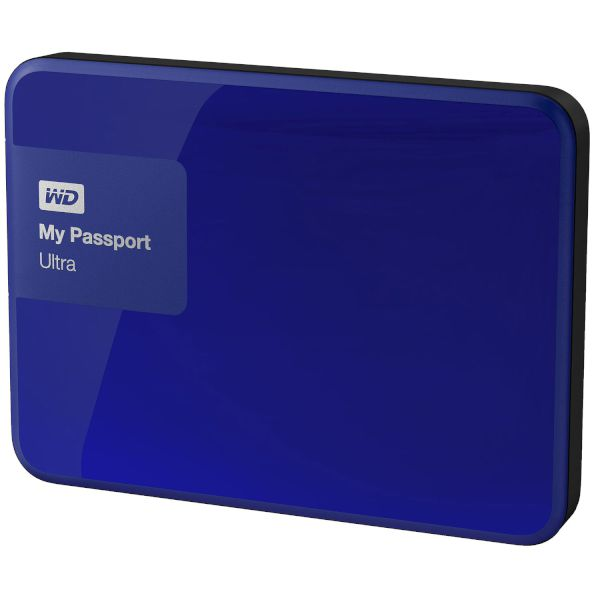 WD Passport Ultra 500GB Blue