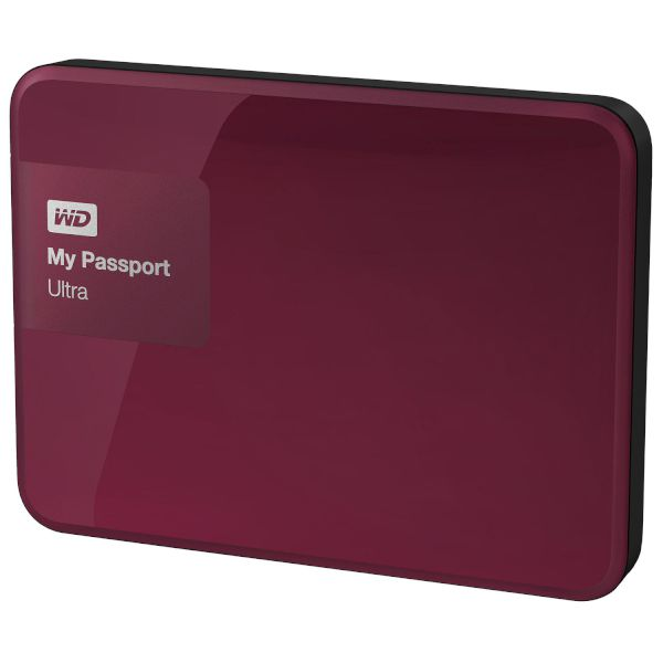 WD Passport Ultra 2TB Berry