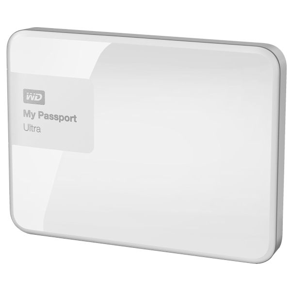 WD Passport Ultra 500GB White