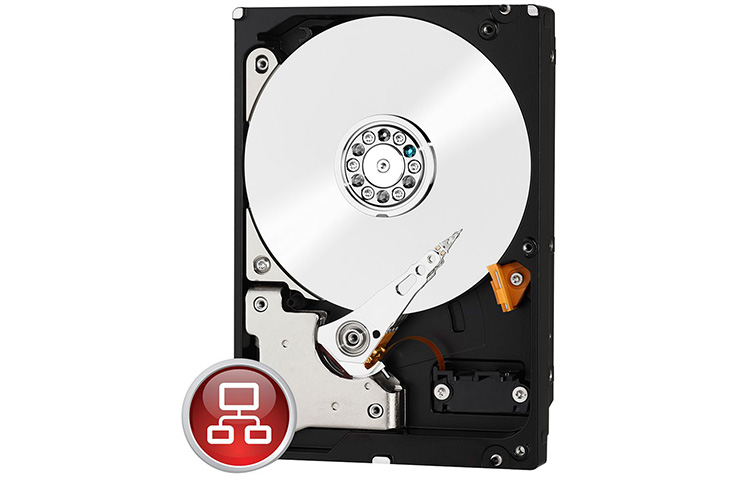 WD HDD SATA III 6TB 64MB Red
