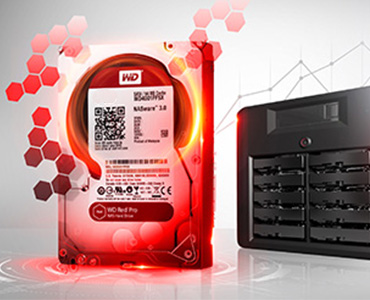 WD RED WD20EFRX 3TB HDD 3.5''