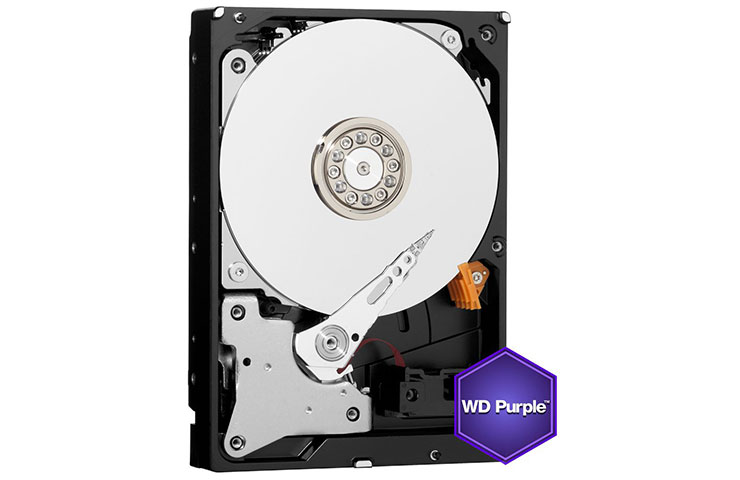 WD HDD Purple Sata III