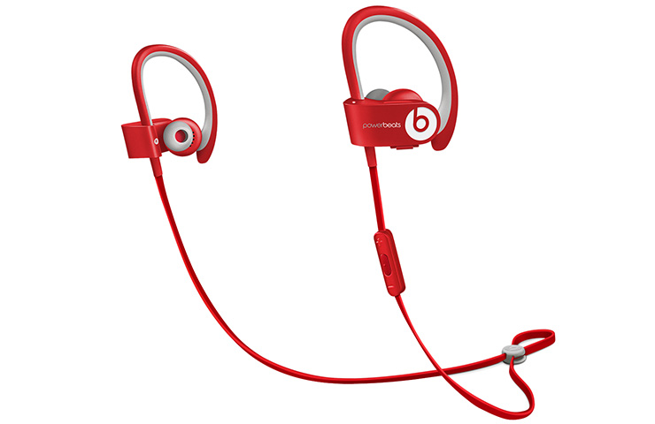 Earphones Beats Powerbeats 2Red