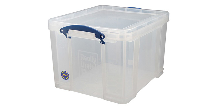 35 LITRE BOX TRANSPARENT