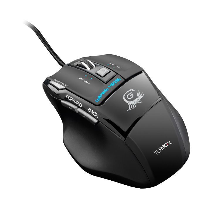 Turbo-X Mouse 500 Gaming Wired
