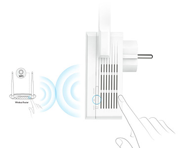 TP-Link Wireless N 300Mbps Range Extender Plug n Play