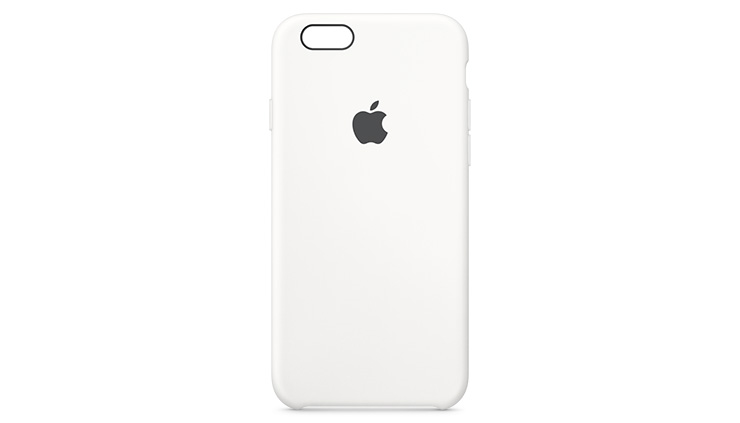 Apple Silicone Case iPhone 6s Plus White