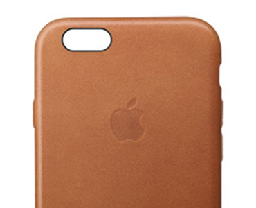 Apple Leather Case iPhone 6 Soft Pink