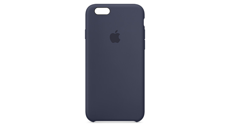 Apple Silicone Case iPhone 6s Plus Midnight Blue
