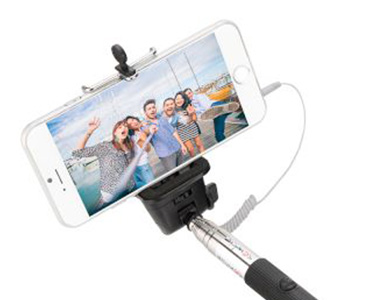 Sentio Selfie Stick  Bluetooth  Μαύρο
