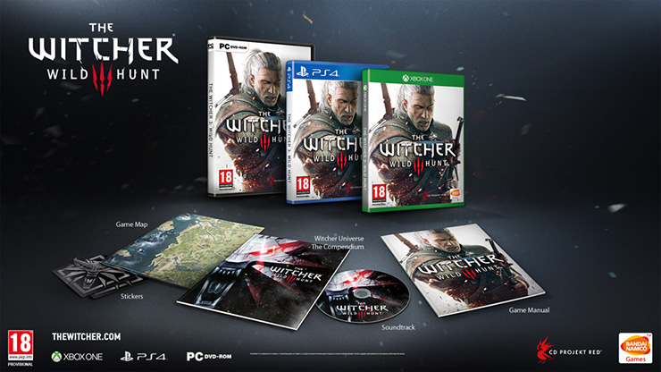 The Witcher 3:Wild Hunt  Special Features