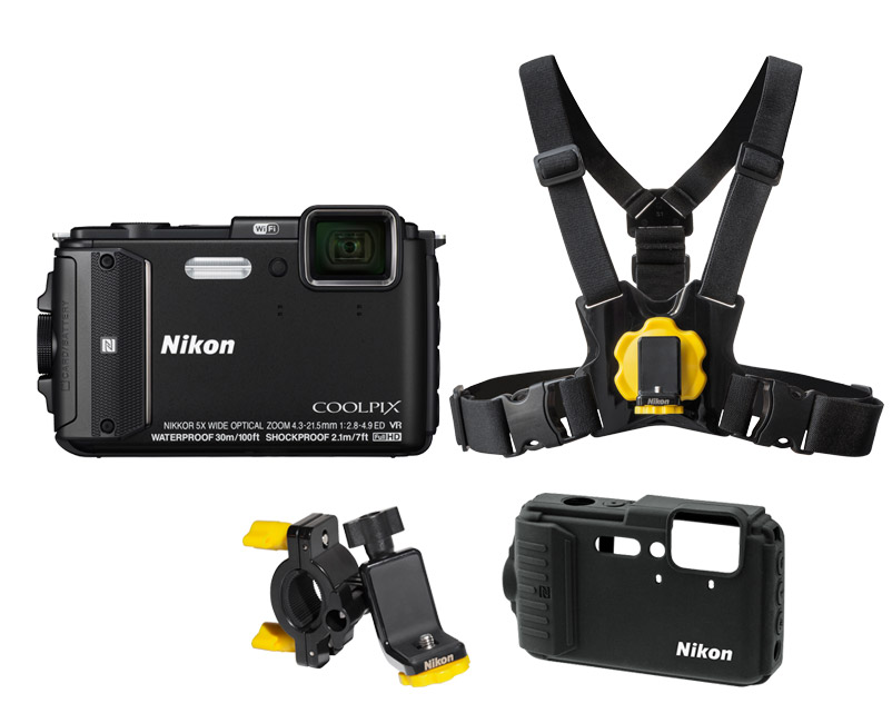Nikon AW130 Outdoor Kit Μαύρο