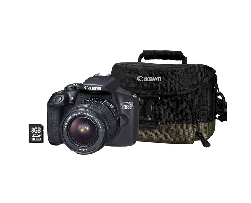 Digital Camera Canon EOS-1300D 18-55 IS cashback