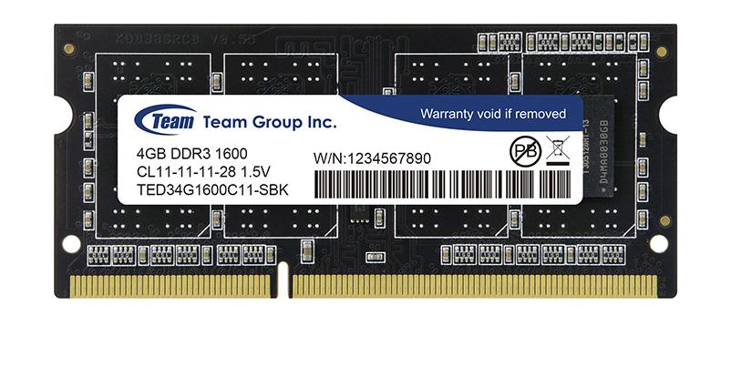RAM laptopTeamGroup