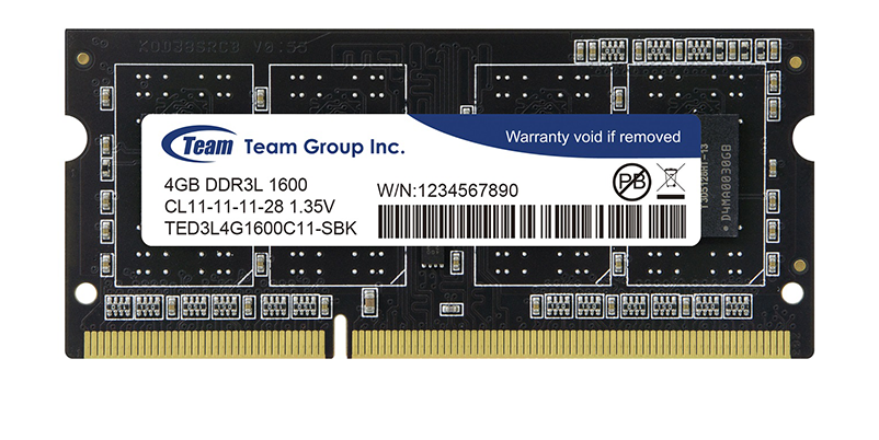 RAM laptopTeamGroup