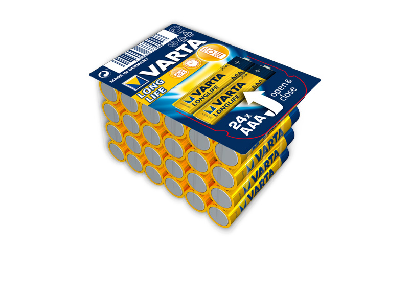 Varta Batteries Longlife AAΑ 24